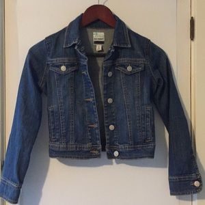 Girls Old Navy Traditional Jean Jacket